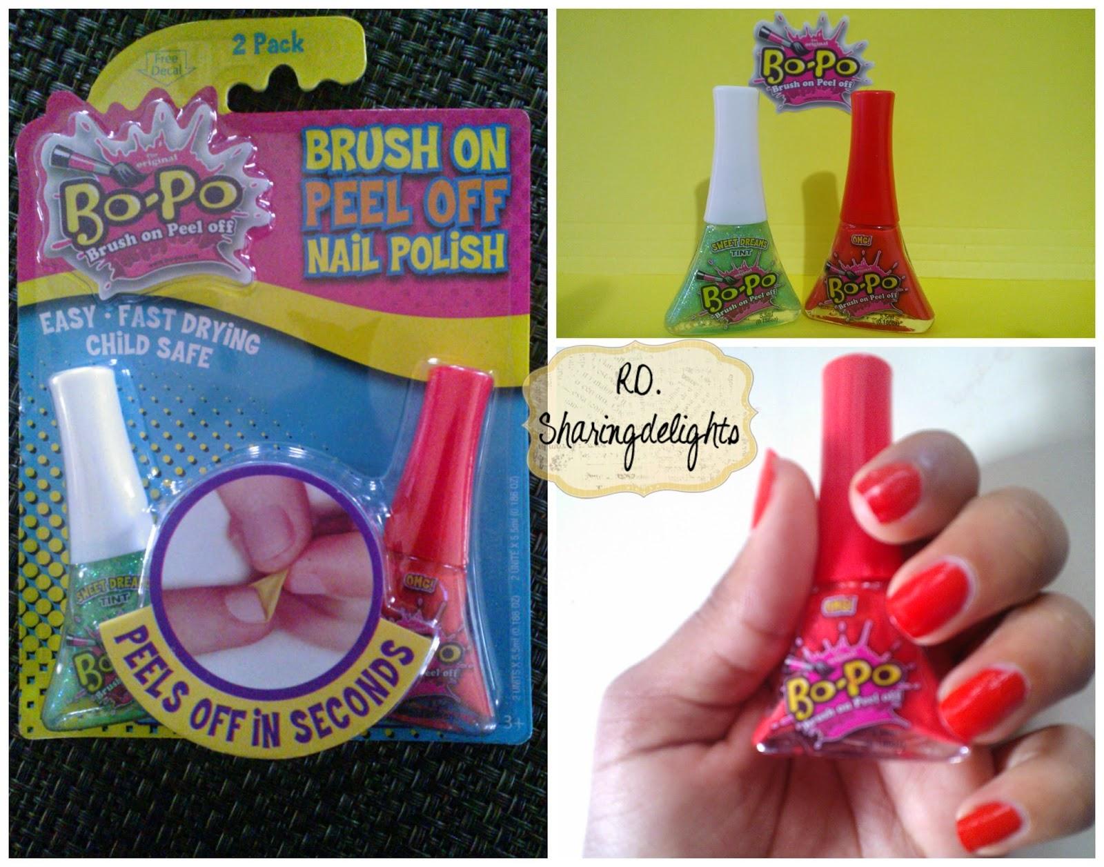 Bo-Po nail polish review and giveaway! #bopofun  